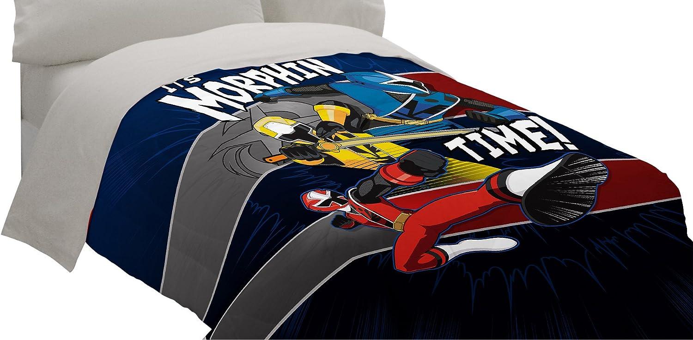 Amazon.com: Saban Power Rangers Ninja Steel Comforter, Twin: Home