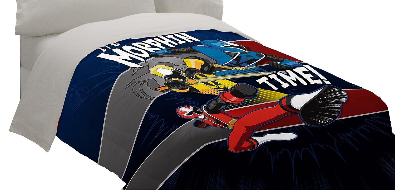 Saban Power Rangers Ninja Steel Twin Comforter Franco Manufacturing MJ7848