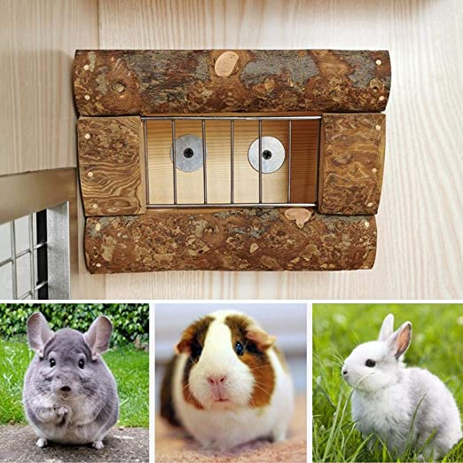 IBaste_Top - Jaula multifuncional para comedero para conejos y ...