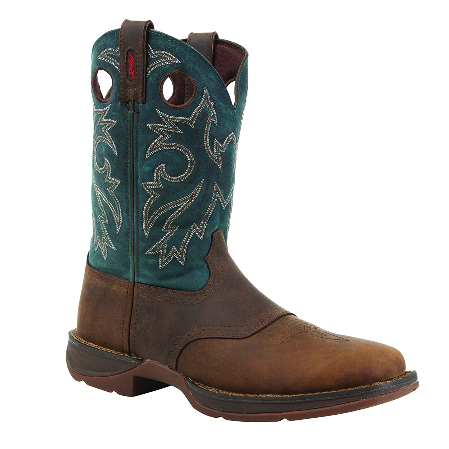 """Rebel by Durango Men's 11"""" Pull-On Western Boot-DB016"""