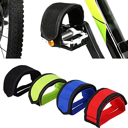 Fixed Gear Bike Bicycle Adhesive Straps Pedal Toe Clip Strap Belt Anti-slip Lin