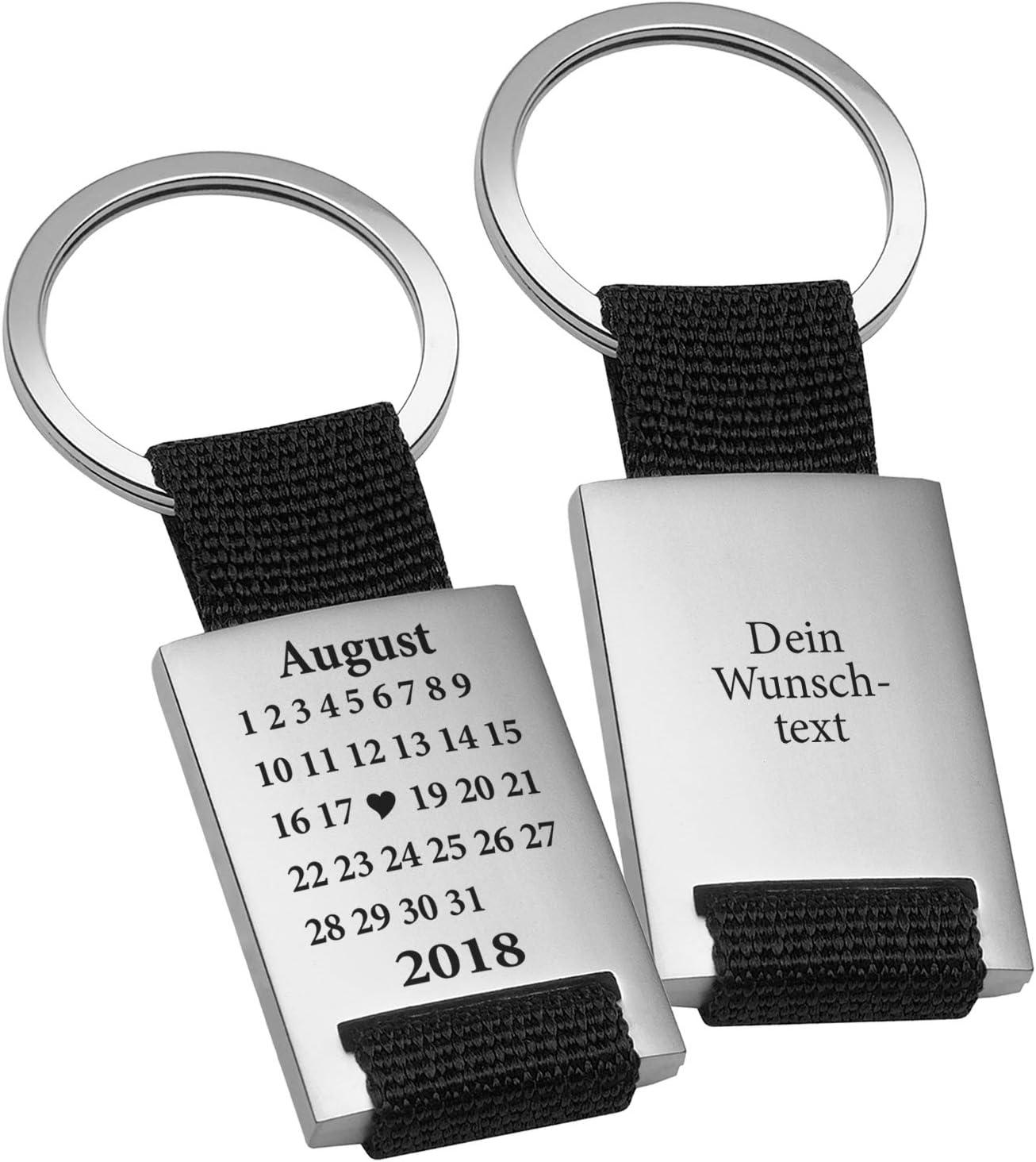 Schlüsselanhänger mit Gravur - Schönster Tag
