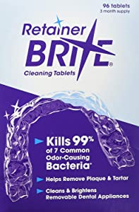 Retainer Brite 96 Tablets (3 Months Supply)