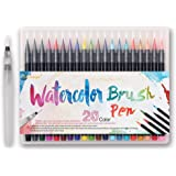 how to use bienfang watercolor brush pens