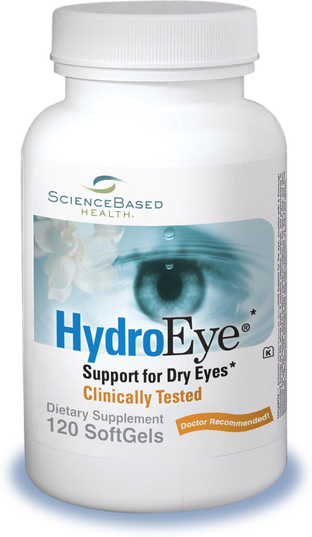 HydroEye Softgels - Dry Eye Relief - 120 Count