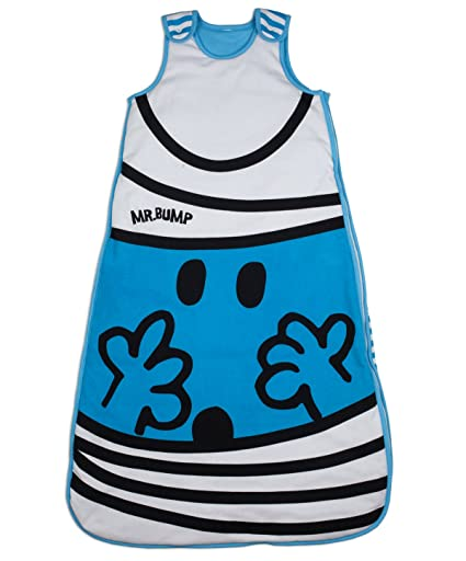 Amazon.com: Mr Men Bump bebé saco de dormir (Azul): Baby