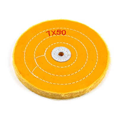 Pleasant Amazon Com 7 Inch Cloth Buffing Polishing Wheel With 2 5 Onthecornerstone Fun Painted Chair Ideas Images Onthecornerstoneorg