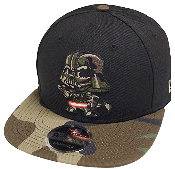 meet 24114 e09ed Image Unavailable. Image not available for. Color  New Era Darth Vader Camo  Happi Furenzo Toki Star Wars Snapback Cap 9fifty ...