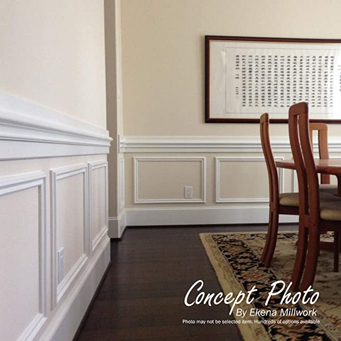 Versailles Flower Blossom Chair Rail 4H x 1P x 94 1//2L, 4 3//4 Repeat
