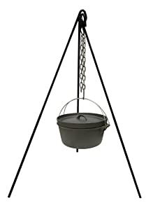 Stansport 15997 Cast Iron Camp Fire Tripod