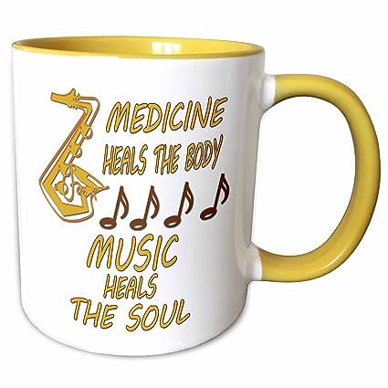 Amazon Com 3drose Rinapiro Music Quotes Medicine Heals The Body
