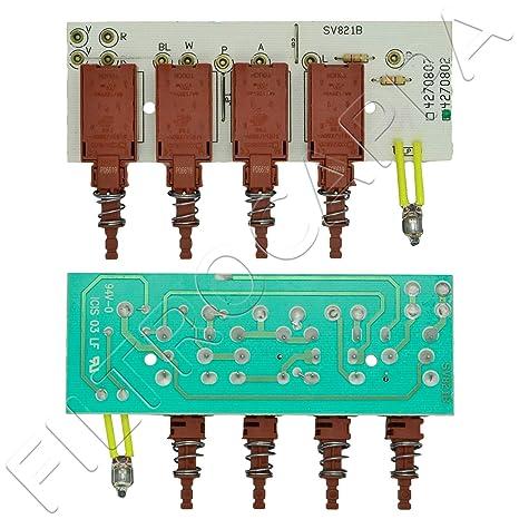 Botón de teclado con tarjeta de FABER ELECTROLUX ALNO ...