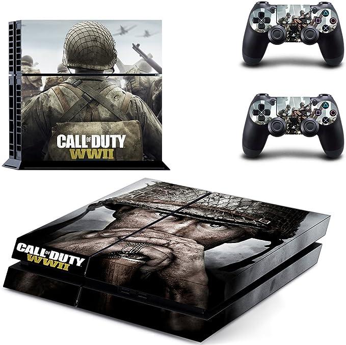 Call of Duty: WWII PS4 Skin Sticker Pegatinas de la piel para la ...