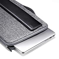 """ESR 13-13.3 inch Laptop Sleeve Carrying Case Bag for The MacBook Air/MacBook Pro/Surface Book/Retina Display 12.9"""" iPad, Cushioned Handbag Compatible with Apple/Samsung/Sony Notebook (Black)"""