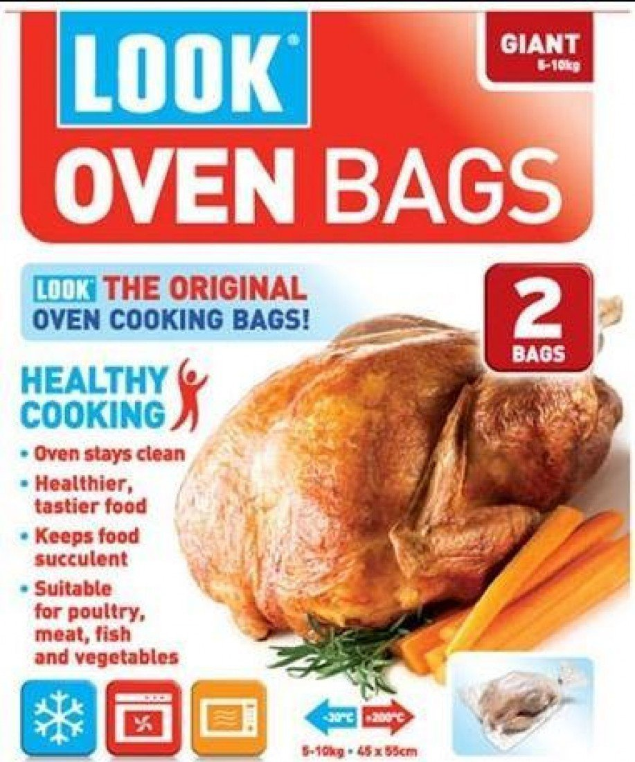 Look, Bag Oven Roasting Giant, 2 Count