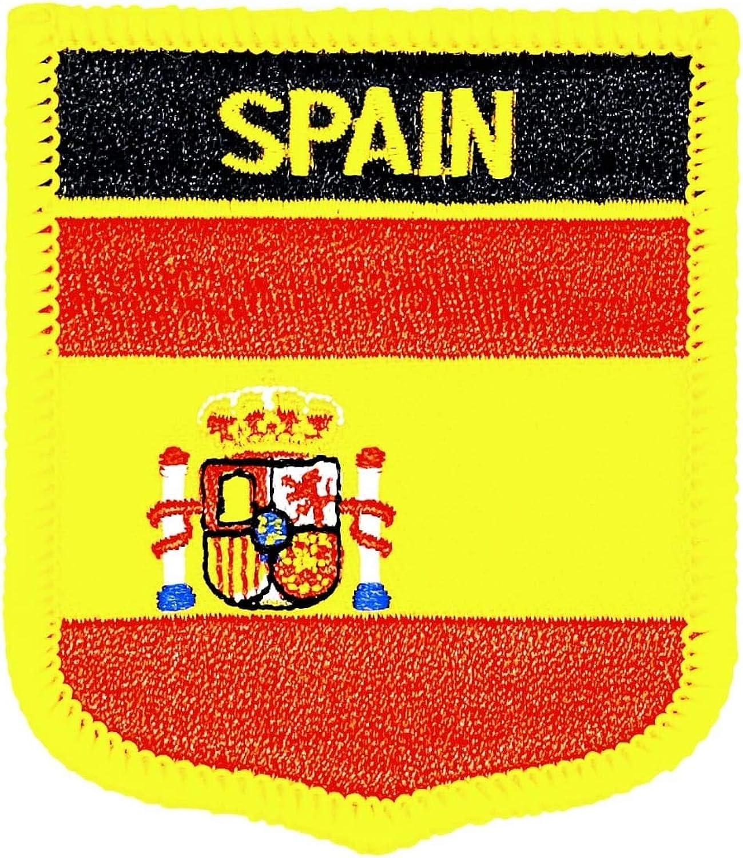 Gemelolandia | Parche Termoadhesivo Bandera escudo España 7x6 cm | Muy Adherentes | Patch Stickers Para Decorar Tu Ropa | Fáciles de Poner: Amazon.es: Ropa y accesorios