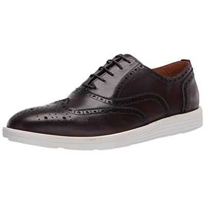 Driver Club USA Men's Leather Made in Brazil Eva Lightweight Oxford Wingtip | Oxfords