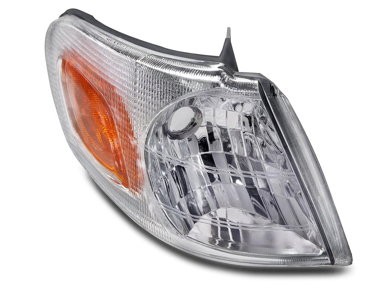 Headlights Depot Replacement for Venture/TransSport/Silhouette/Montana New Passenger Corner Light HeadlightsDepot GM2521155