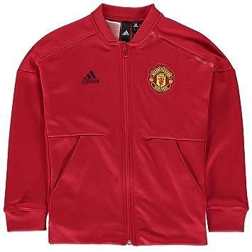 ADIDAS JUNGE KINDER Jacke Jacket Gr.140 Manchester United