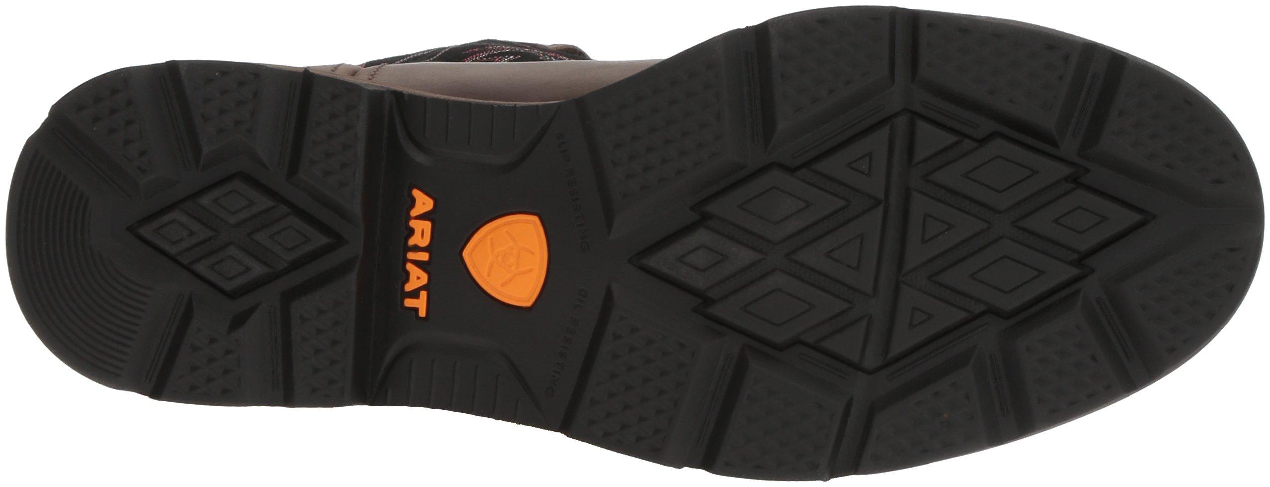 Ariat Work Men's Groundbreaker Pull-On Steel Toe Work Boot, Brown/Black, 10 D US by Ariat (Image #3)