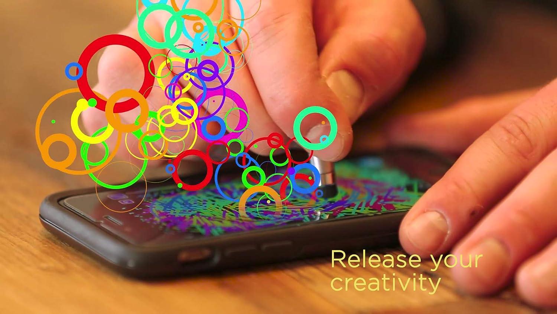 Pennino Portatile per Smartphone e Tablet Ergonomico e Compatto Nero Keysmart NanoStylus