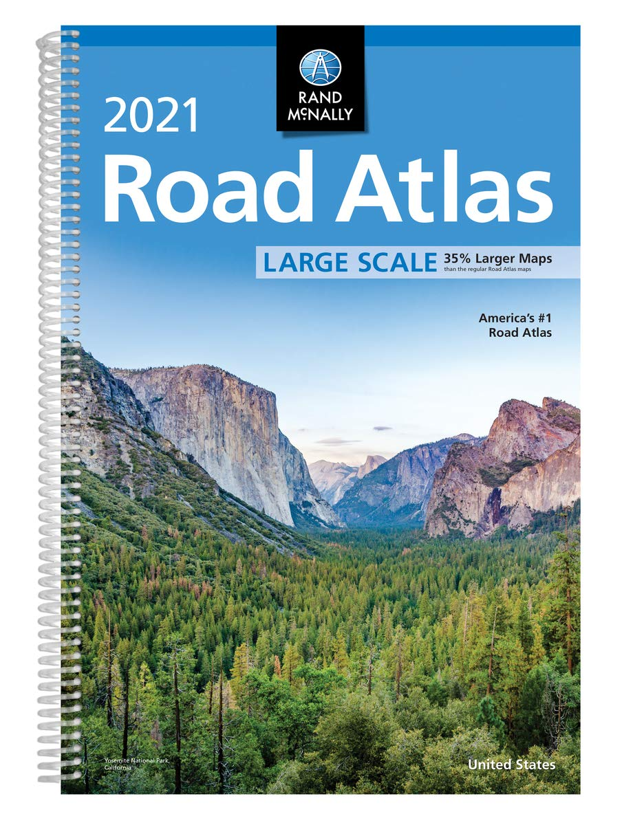 Rand McNally 2021 Large Scale Road Atlas (Rand McNally Road Atlas) WeeklyReviewer