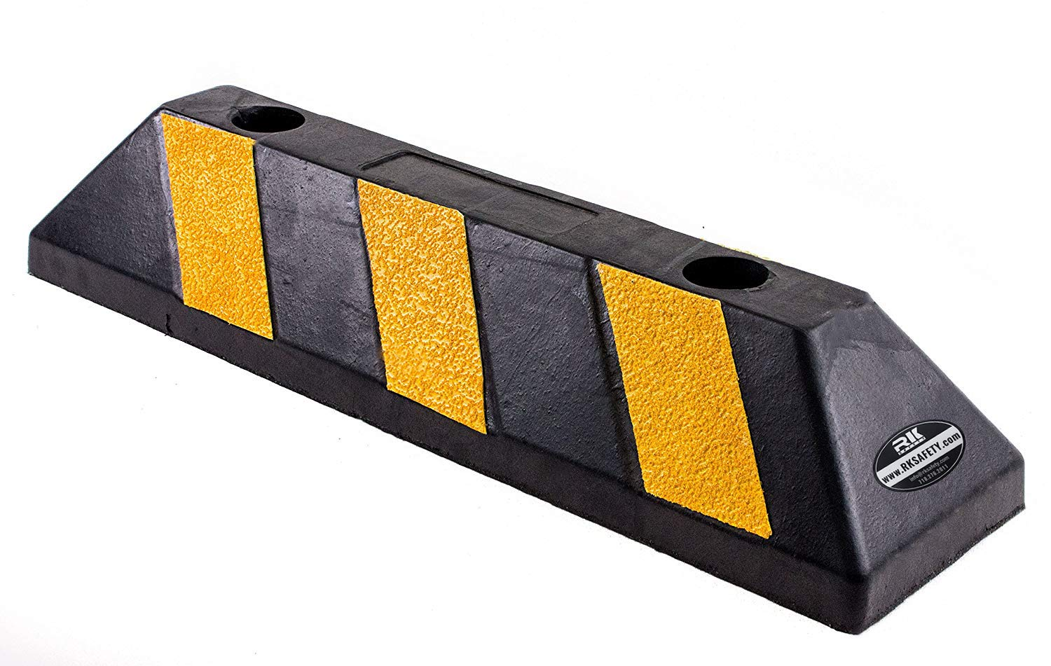 RK-BP22 Rubber Curb Truck Parking Block, 22 -Inch