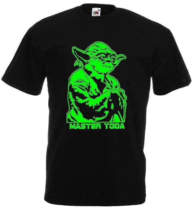 Star Wars Herren T Shirt Master Yoda Jedi Master Amazon De Sport
