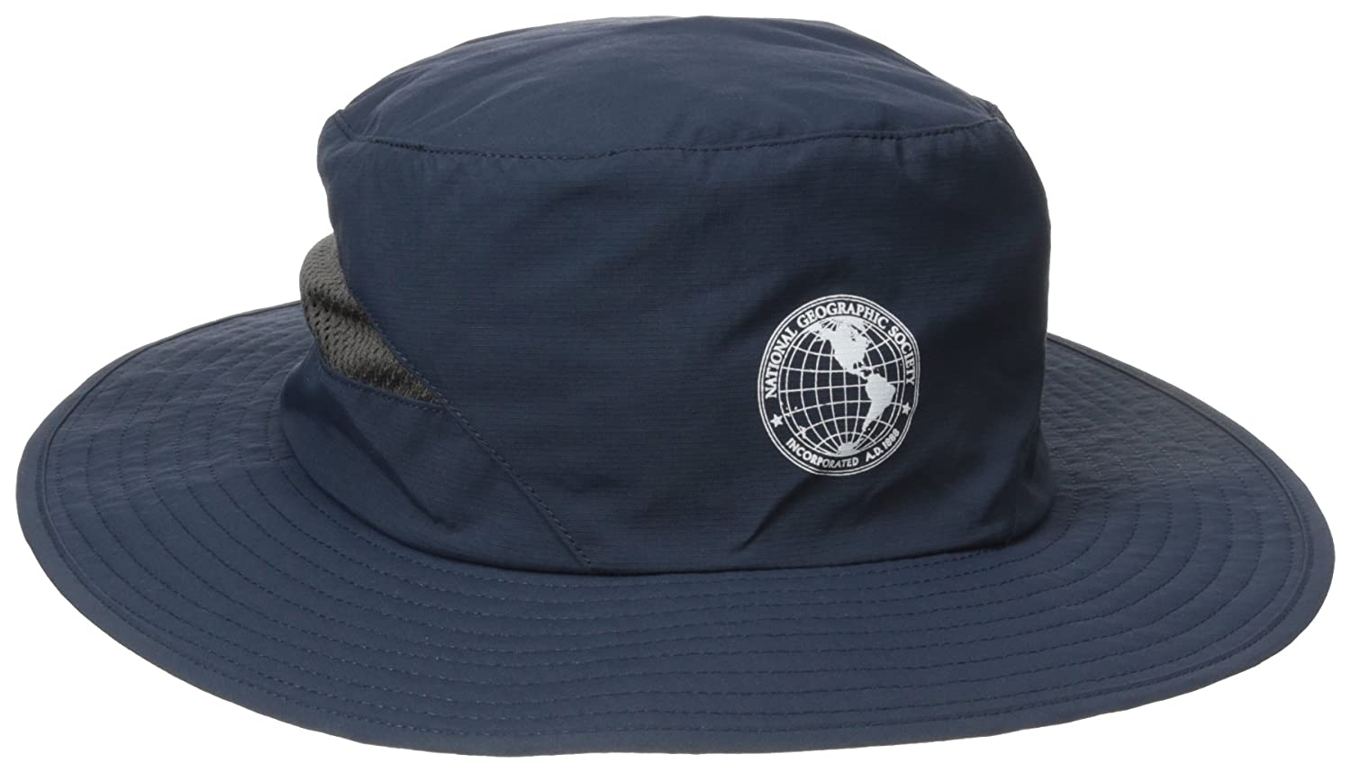 NATIONAL GEOGRAPHIC Mens Booney Hat with Back Mesh