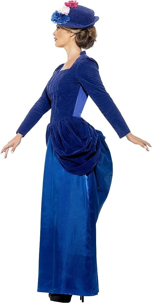 Smiffys Womens Victorian Vixen Deluxe Costume