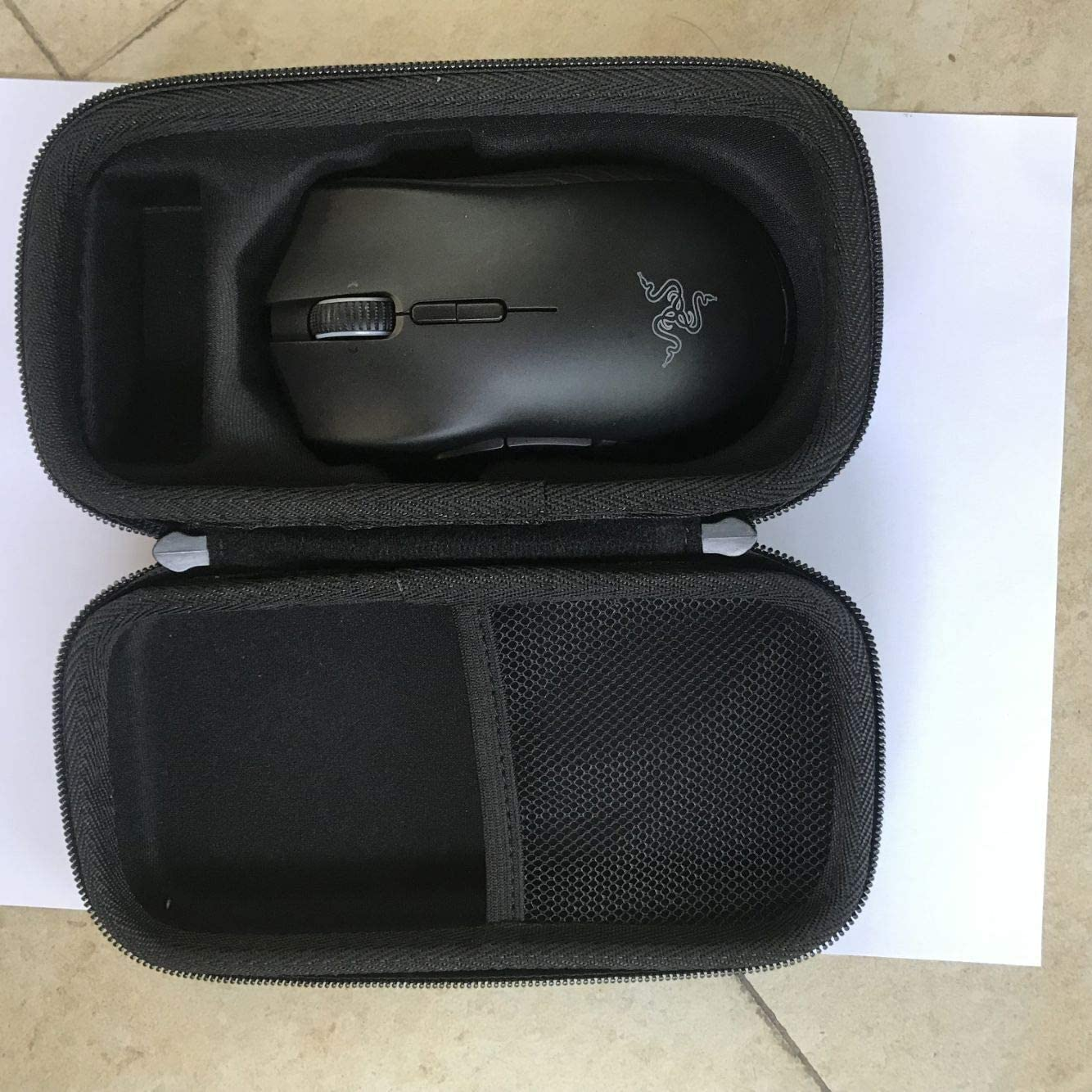 Travel Hard Protective Case Carrying Pouch Cover Bag for Razer Mamba Wireless Gaming Mouse//Razer Mamba HyperFlux Mouse