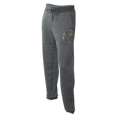 34ca1e41a9f3 Nike Womens Rally Loose Metallic Pants (Carbon Heather Metallic Gold
