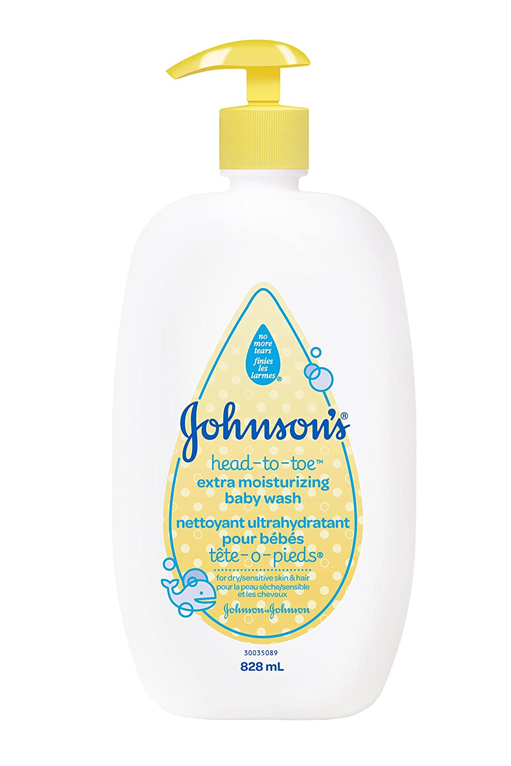 Johnson's Baby Head-To-Toe Extra Moisture Wash, 828ml Johnson and Johnson CA ca beauty JOKSI