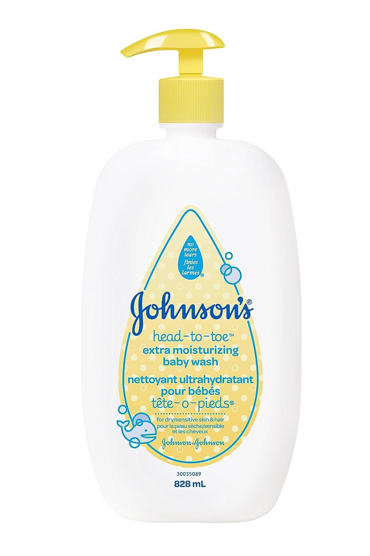 Johnson's Baby Head-To-Toe Extra Moisture Wash, 828ml Johnson and Johnson CA ca beauty JOKSI