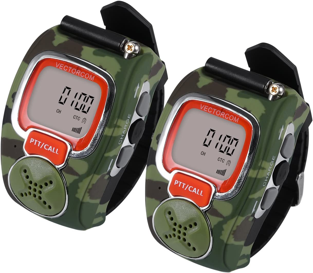 this is an image of kids camo watch walkie talkies