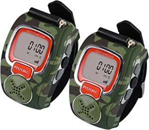 VECTORCOM Portable Digital Wrist Watch Walkie Talkie Two-Way Radio Outdoor Sport Hiking