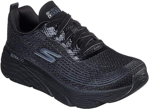 Skechers MAX - Zapatillas de Correr para Mujer, Negro (Negro/Negro ...