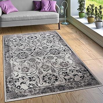 Amazon.de: Paco Home Designer Teppich Wohnzimmer Teppiche Florale ...