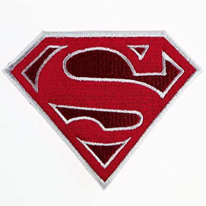 Super Man Super Hero Movie Embroidered Patch Iron on Sew On Badge