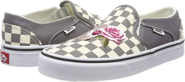 Vans Damen Asher Classic Checkerboard Slip On Sneaker