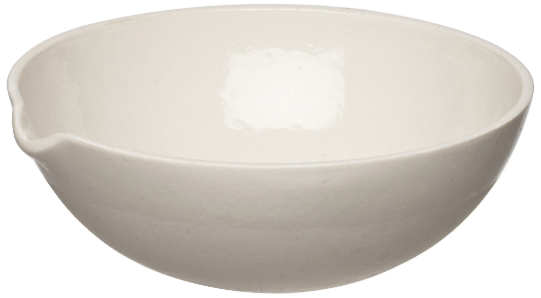 American Educational Porcelain Evaporation Dish, 104mm Diameter X 40mm Height, 150ml Capacity