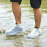 Shiwely Silicone Waterproof Shoe Covers, Upgrade
