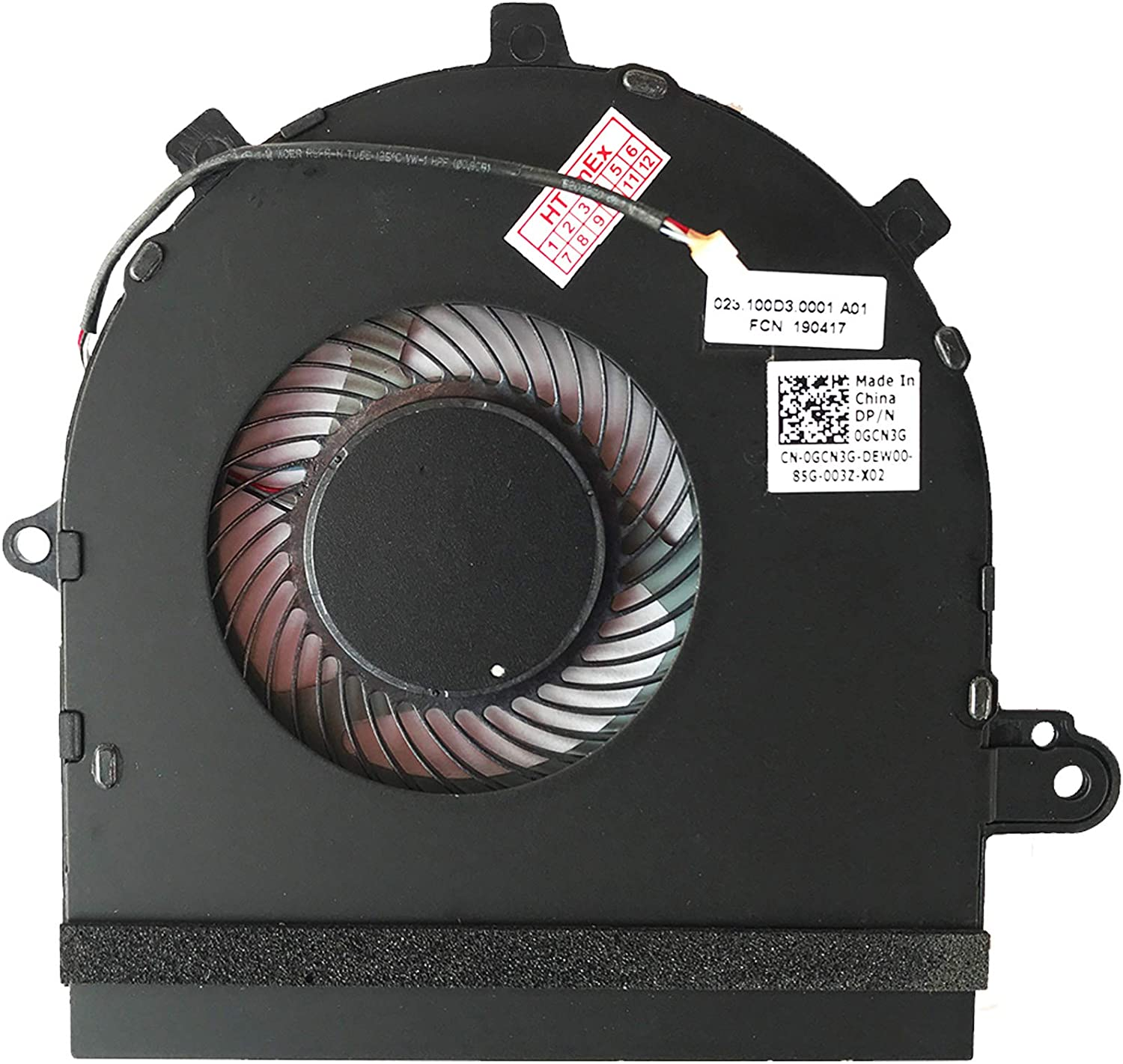 gaixample.org 17-7786 P36E 17-7786 Fan Cooler for Dell Inspiron 17 ...