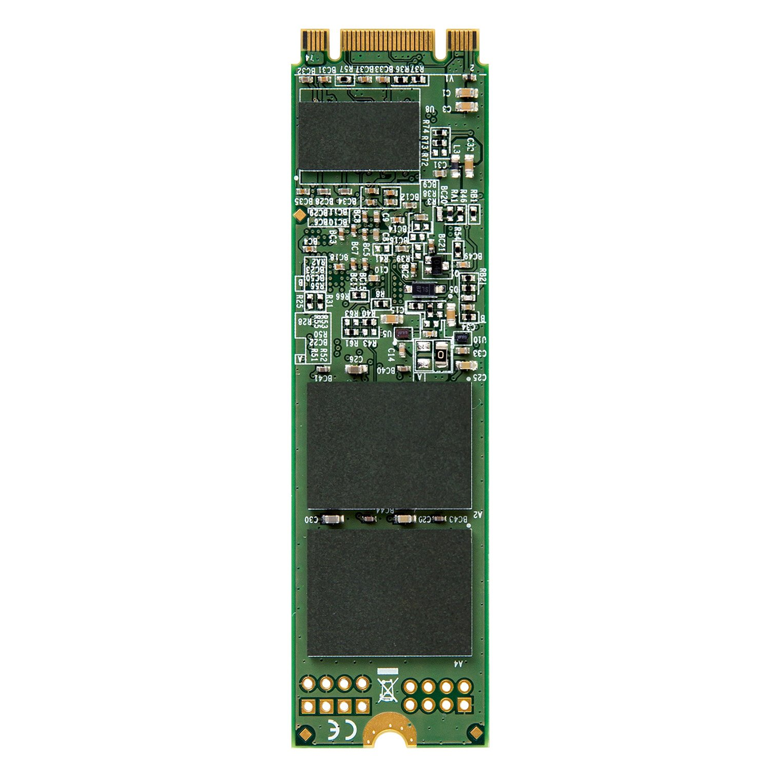 Transcend 128GB SATA III 6Gb/s MTS800 80 mm M.2 Solid State Drive (TS128GMTS800) by Transcend (Image #2)