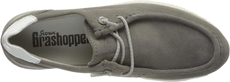 Sioux Women's Low-Top Sneakers Grey Piombo Weiss 002