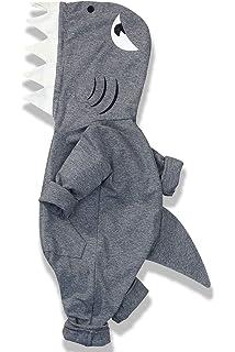 Newborn Baby Boys Bodysuit Short-Sleeve Onesie Art Manatee Animals Print Jumpsuit Autumn Pajamas