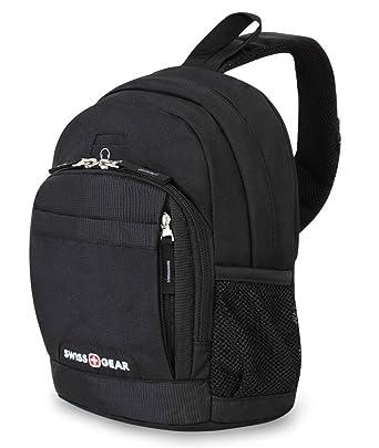 Amazon.com | SwissGear SA2310 Mini Sling Backpack, Black | Casual ...