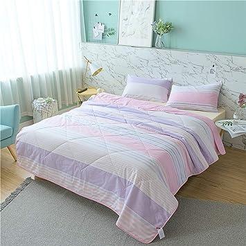 Amazon.com: HOME-DCS - Colcha de verano 100% algodón para ...