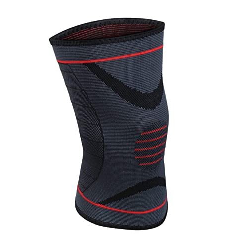 dbe7cd7ba1 FlexPro Athletics Knee Compression Sleeve - Best Knee Brace for reducing  swelling - Ideal for Running