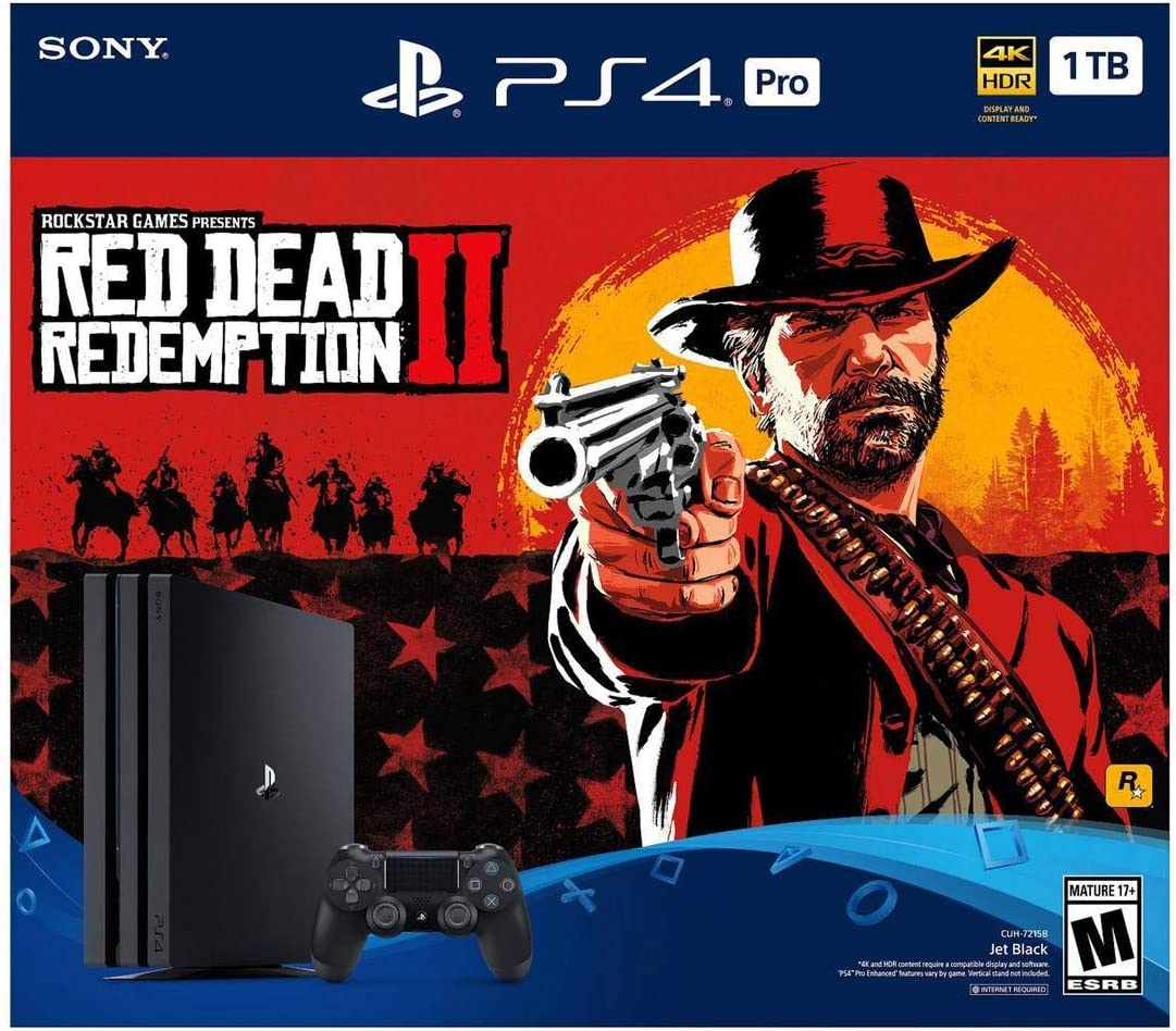Playstation 4 PRO 1TB Bundle – Red Dead Redemption 2